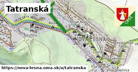 ilustrácia k Tatranská, Nová Lesná - 0,91km