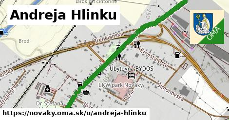 ilustrácia k Andreja Hlinku, Nováky - 1,28km