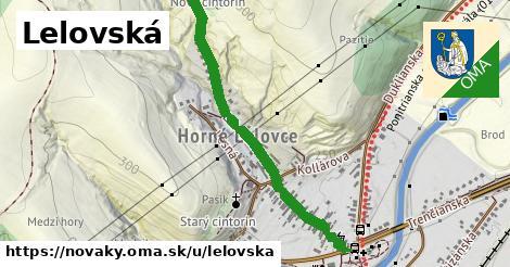 ilustrácia k Lelovská, Nováky - 0,93km