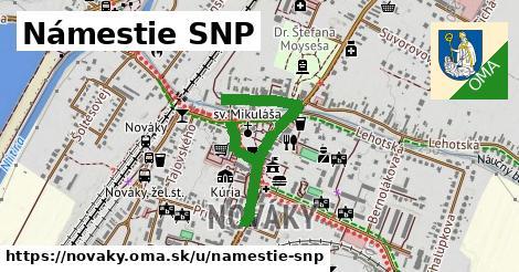 ilustračný obrázok k Námestie SNP, Nováky