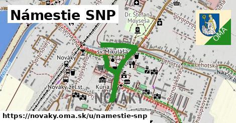 ilustrácia k Námestie SNP, Nováky - 624m