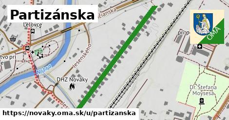 ilustrácia k Partizánska, Nováky - 437m