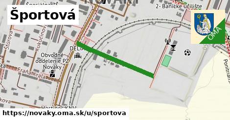 ilustrácia k Športová, Nováky - 268m
