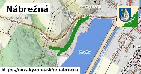 ilustrácia k Nábrežná, Nováky - 1,13km
