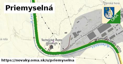 ilustrácia k Priemyselná, Nováky - 2,0km
