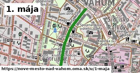 ilustračný obrázok k 1. mája, Nové Mesto nad Váhom