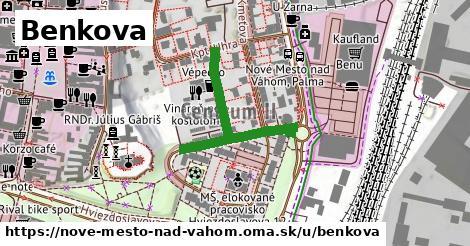 ilustračný obrázok k Benkova, Nové Mesto nad Váhom