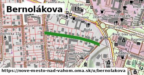 ilustrácia k Bernolákova, Nové Mesto nad Váhom - 288m