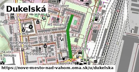 ilustrácia k Dukelská, Nové Mesto nad Váhom - 239m