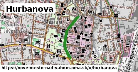 ilustrácia k Hurbanova, Nové Mesto nad Váhom - 510m