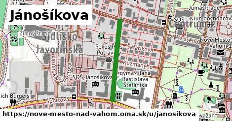 ilustrácia k Jánošíkova, Nové Mesto nad Váhom - 266m