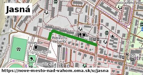 ilustrácia k Jasná, Nové Mesto nad Váhom - 289m