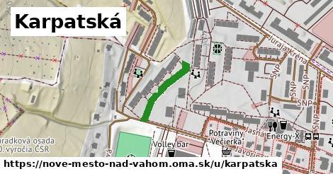 ilustrácia k Karpatská, Nové Mesto nad Váhom - 181m