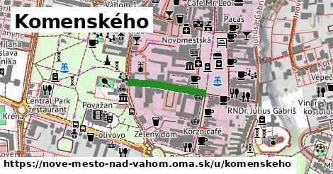 ilustračný obrázok k Komenského, Nové Mesto nad Váhom