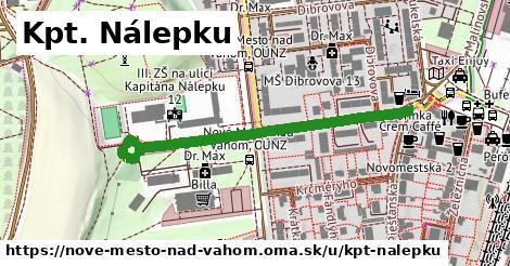 ilustrácia k Kpt. Nálepku, Nové Mesto nad Váhom - 481m