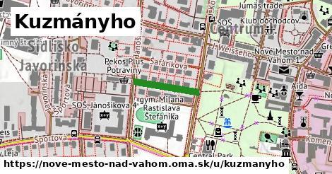 ilustrácia k Kuzmányho, Nové Mesto nad Váhom - 146m