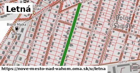 ilustrácia k Letná, Nové Mesto nad Váhom - 368m