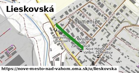 ilustrácia k Lieskovská, Nové Mesto nad Váhom - 193m