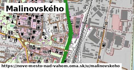 ilustrácia k Malinovského, Nové Mesto nad Váhom - 1,16km