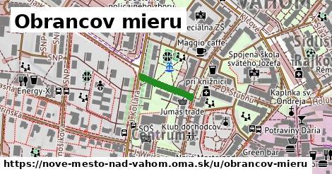 ilustrácia k Obrancov mieru, Nové Mesto nad Váhom - 129m
