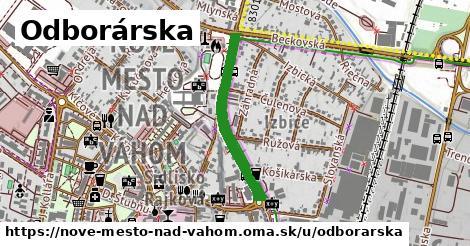 ilustrácia k Odborárska, Nové Mesto nad Váhom - 579m