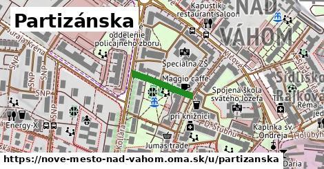 ilustrácia k Partizánska, Nové Mesto nad Váhom - 148m