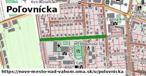 ilustrácia k Poľovnícka, Nové Mesto nad Váhom - 339m