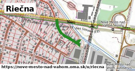 ilustrácia k Riečna, Nové Mesto nad Váhom - 226m