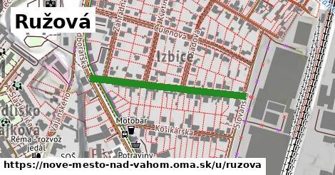 ilustrácia k Ružová, Nové Mesto nad Váhom - 345m