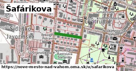 ilustrácia k Šafárikova, Nové Mesto nad Váhom - 150m