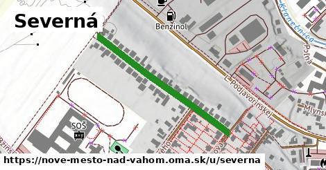 ilustrácia k Severná, Nové Mesto nad Váhom - 371m