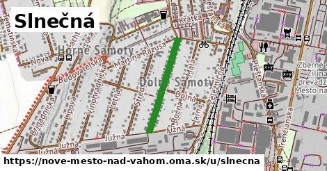 ilustrácia k Slnečná, Nové Mesto nad Váhom - 452m