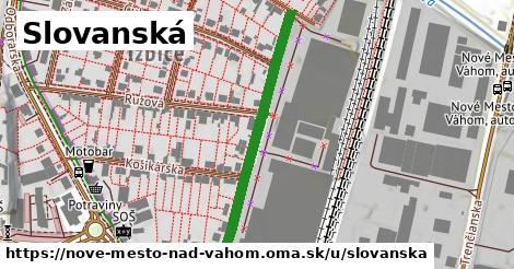 ilustrácia k Slovanská, Nové Mesto nad Váhom - 372m