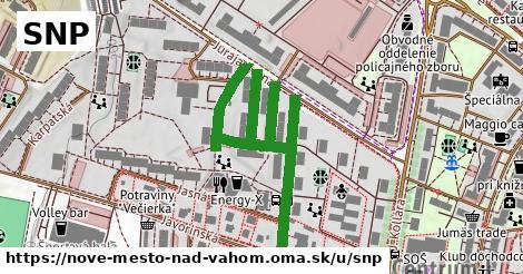 ilustračný obrázok k SNP, Nové Mesto nad Váhom