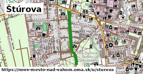 ilustrácia k Štúrova, Nové Mesto nad Váhom - 616m