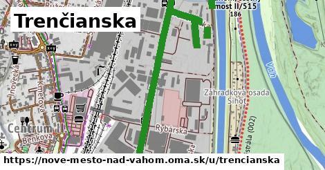 ilustrácia k Trenčianska, Nové Mesto nad Váhom - 3,8km