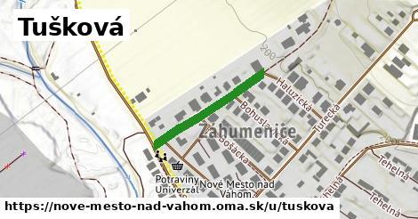ilustrácia k Tušková, Nové Mesto nad Váhom - 233m