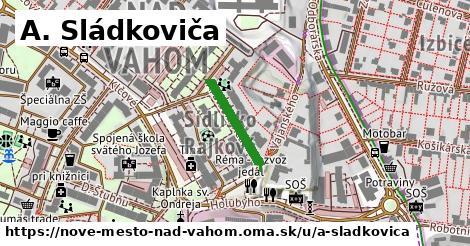 ilustrácia k A. Sládkoviča, Nové Mesto nad Váhom - 160m