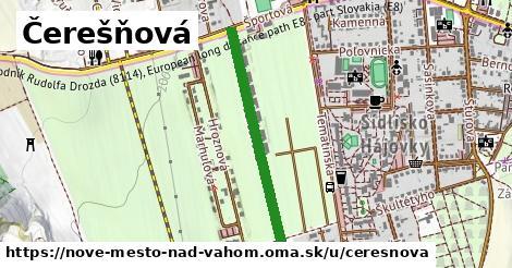 ilustrácia k Čerešňová, Nové Mesto nad Váhom - 621m