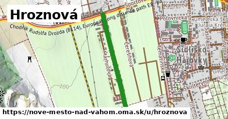 ilustrácia k Hroznová, Nové Mesto nad Váhom - 627m