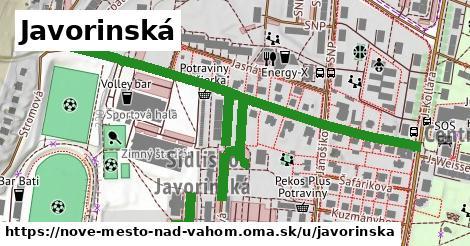 Javorinská, Nové Mesto nad Váhom