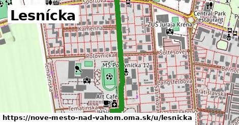 ilustrácia k Lesnícka, Nové Mesto nad Váhom - 350m