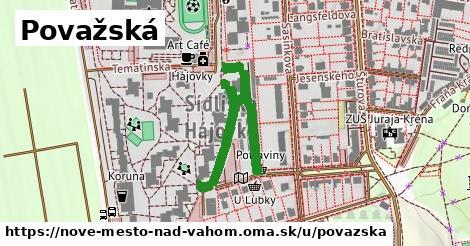 ilustrácia k Považská, Nové Mesto nad Váhom - 488m