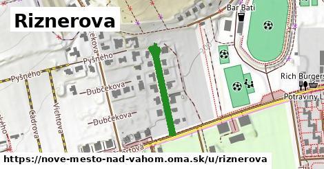 ilustrácia k Riznerova, Nové Mesto nad Váhom - 240m