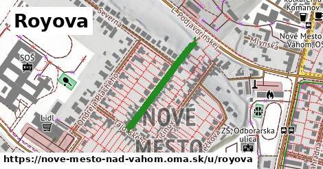 Royova, Nové Mesto nad Váhom