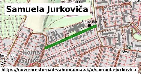 ilustrácia k Samuela Jurkoviča, Nové Mesto nad Váhom - 296m