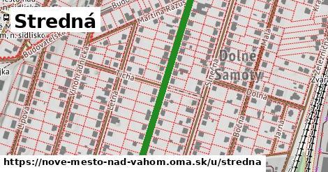 ilustrácia k Stredná, Nové Mesto nad Váhom - 411m