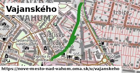 ilustrácia k Vajanského, Nové Mesto nad Váhom - 430m