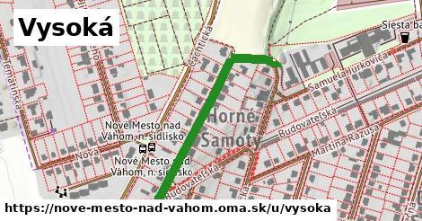 ilustrácia k Vysoká, Nové Mesto nad Váhom - 369m