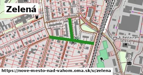 ilustrácia k Zelená, Nové Mesto nad Váhom - 348m